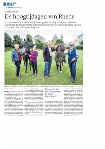 15-09-19 Dagblad van het Noorden - Vorbericht Rheder Markt