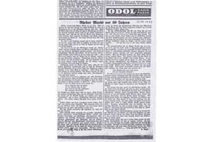 1933-09-23-Ems-Zeitung-von-1933---Rheder-Markt-vor-80-Jahren-um-1850---Original
