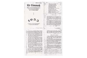1953-Use-Almanach-von-1953---Rheder-Markt