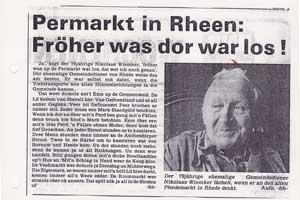1979---Peermarkt-in-Rheen---Gemeindediener