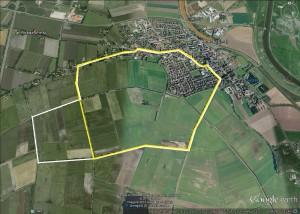 Route Rheder Marktlauf 5 km und  10 km