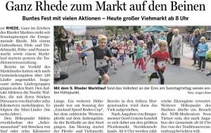 15-09-21 Ems-Zeitung Bericht Rheder Marktlauf 2015