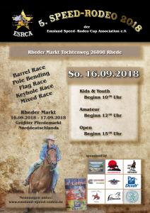 ESRCA Rodeo Reiten Rhede Markt 16.09.2018