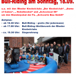 Plakat Bullriding
