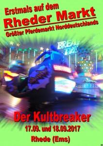Rheder Markt 2017 - Break Dancer Sonntag 17.09. u. Montag 18.09