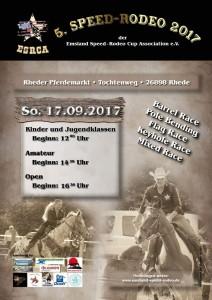 Rheder Markt 2017 - Speed-Rodeo - Western-Reiten Sonntag 17.09