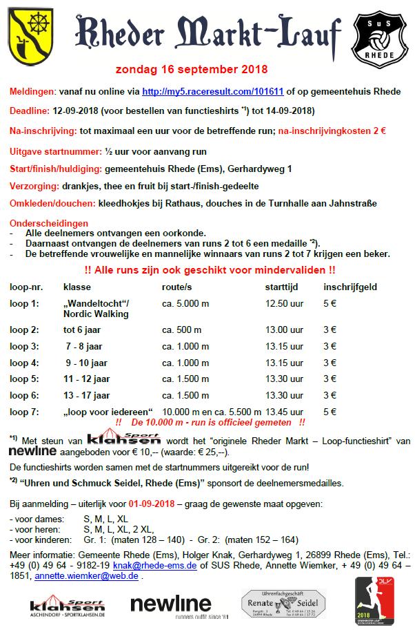 Plakat Marktlauf 2018-NL